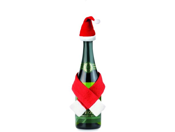 Dsifraz de navidad para botellas personalizado