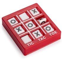 Juego 3 en raya personalizado rojo