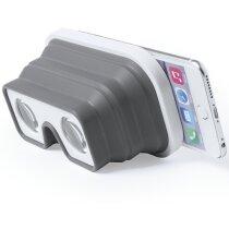 Gafa prismático realidad virtual personalizada blanca