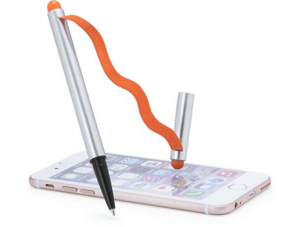 Bolígrafo ajustable en móvil o tablet merchandising