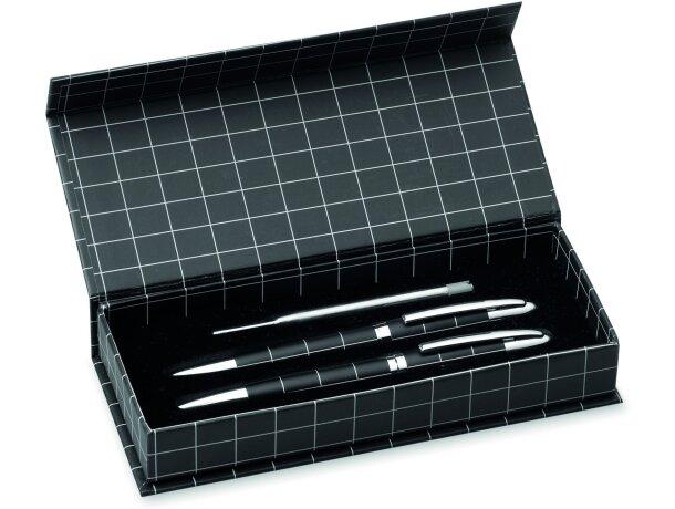 Set elegante de roller y bolígrafo