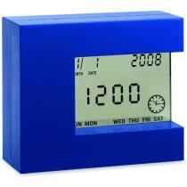 Reloj de sobremesa digital cuadrado personalizado