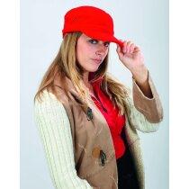 Gorra modelo navy especial para serigrafia personalizada roja