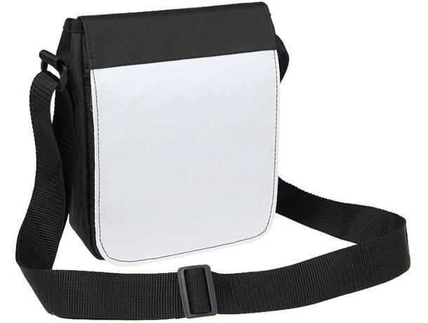 Bandolera de poliéster 600d color blanco personalizada