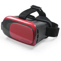 Gafas de realidad personalizado virtual ajustables roja