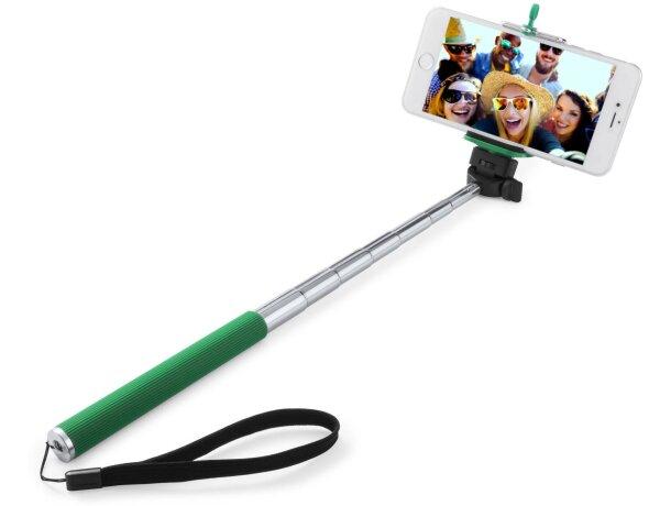 Palo para selfie con siete posiciones grabado