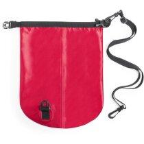 Bolsa impermeable y resistente roja personalizado