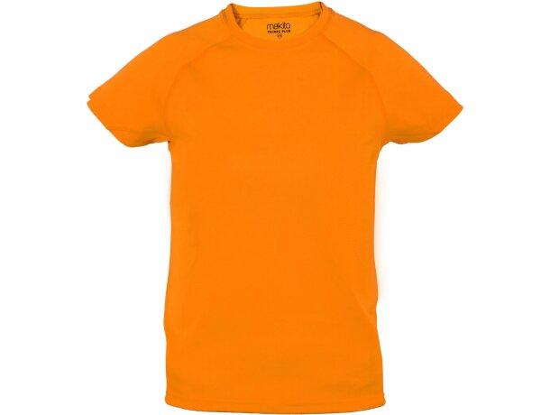 Camiseta técnica de niños 135 gr