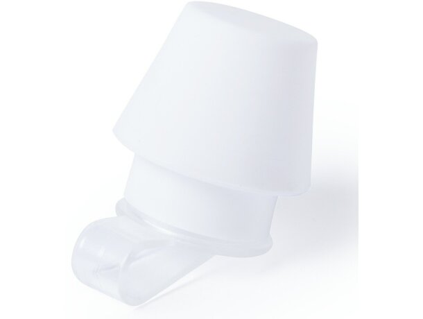 Mini lámpara para móvil personalizada blanca