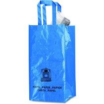 Bolsas para reciclar vidrio, papel y plástico