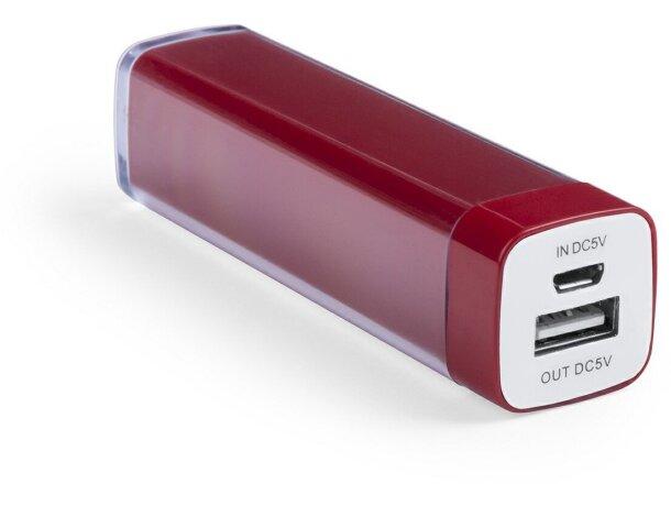 Batería ligera portátil con 2000 mah en colores con logo