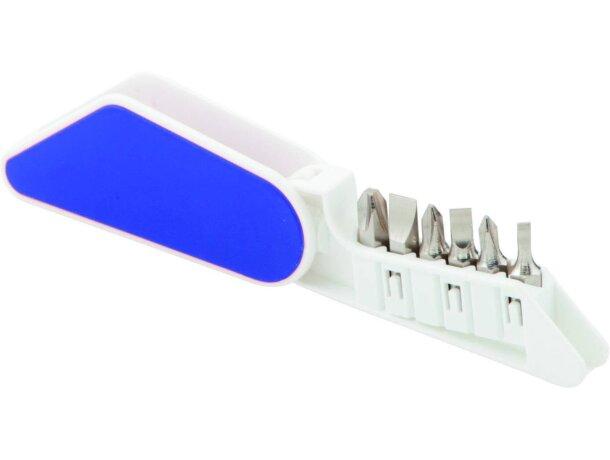 Multiherramienta de plástico con 6 accesorios