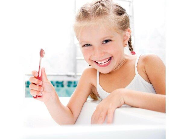 Cepillo de dientes infantil con ventosa personalizado