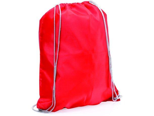 Spook mochila saco con cuerdas personalizado roja