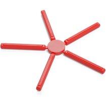 Salvamantel de silicona personalizado rojo