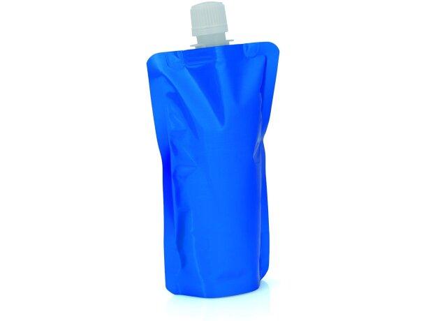 Mini botella de 240 ml personalizada azul