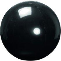 Balón de pvc 40 cm personalizado negro