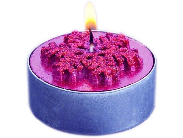 Set de dos velas decoradas personalizado