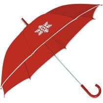 Paraguas con detalle navideño barato