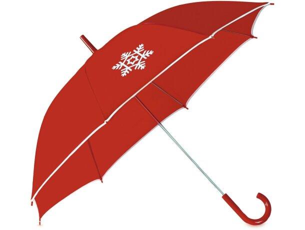 Paraguas con detalle navideño