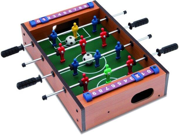 Mini futbolín personalizado