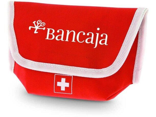 Botiquín emergencia con 17 piezas personalizado