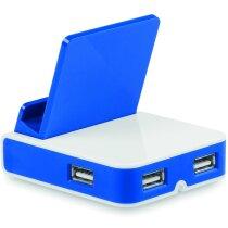 Soporte para móvil con 3 puertos personalizado