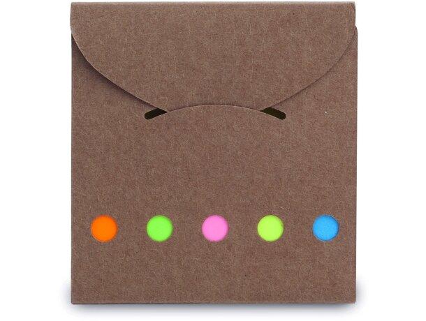 Kit con 25 notas adhesivas personalizada