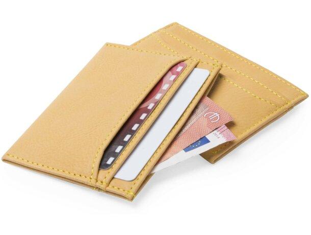 Monedero para tarjetas elegante personalizado