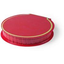 Estuche con 29 piezas en varios colores personalizado rojo