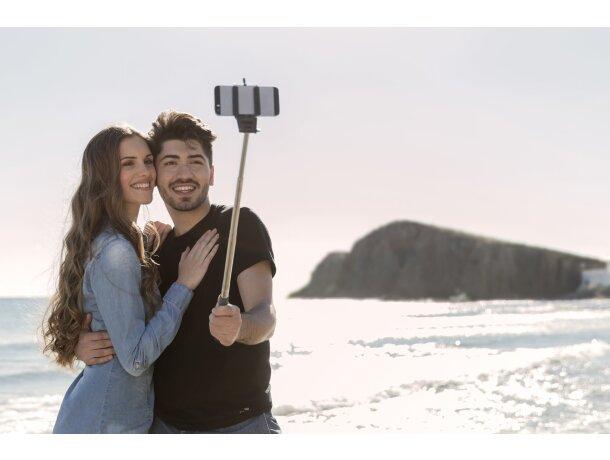 Palo para selfie con siete posiciones personalizado azul