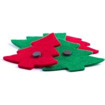 Imán de nevera árbol de Navidad personalizado