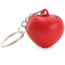 Llavero antiestrés con forma de corazón personalizado