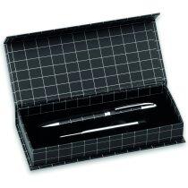 Bolígrafo con recambio en estuche personalizado