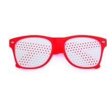 Gafas de sol con lentes personalizables personalizada roja