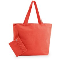 Bolsa de playa con neceser en varios colores