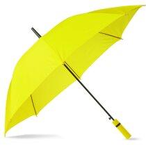 Paraguas con mango de eva mismo color que la tela con logo