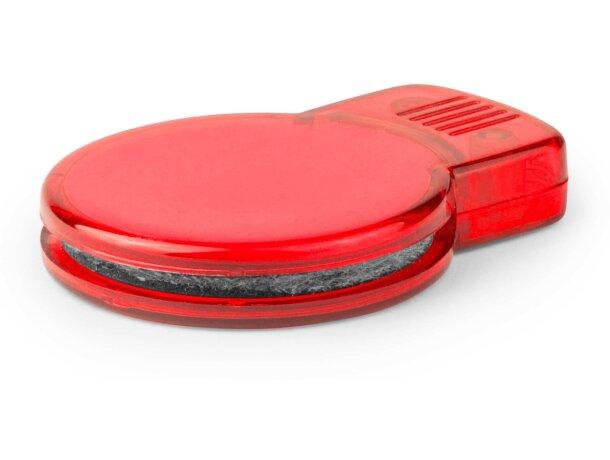 Limpiador para cds personalizado rojo
