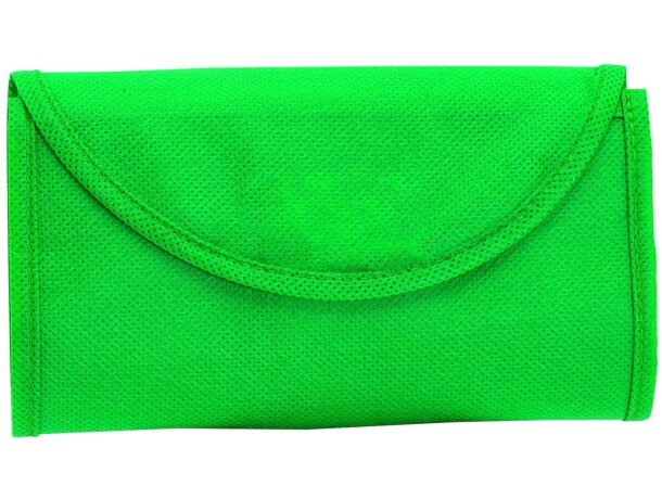 Bolsa de tela personalizada verde