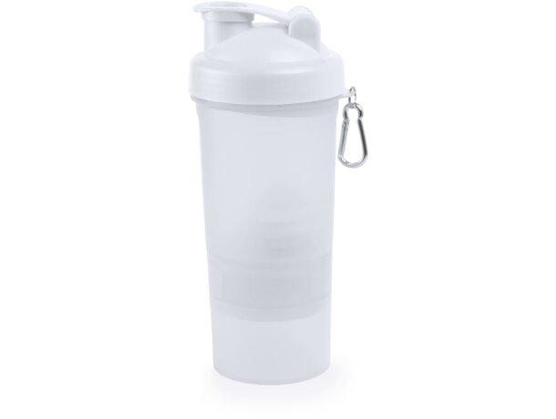 Bidón de polipropileno 400 ml para empresas blanco