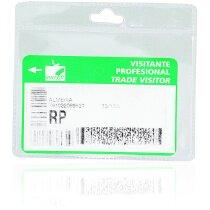 Identificador Itransparente de pvc personalizado