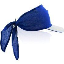 Visera con pañuelo de colores personalizada