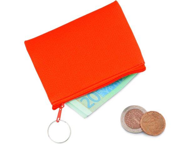 Monedero de plçastico en colores fluor barato
