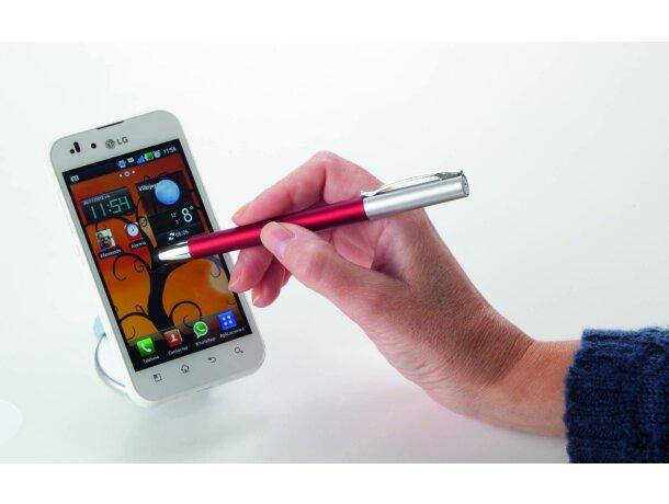 Bolígrafo con diseño moderno y puntero personalizado