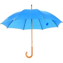 Paraguas clásico con mango curvo