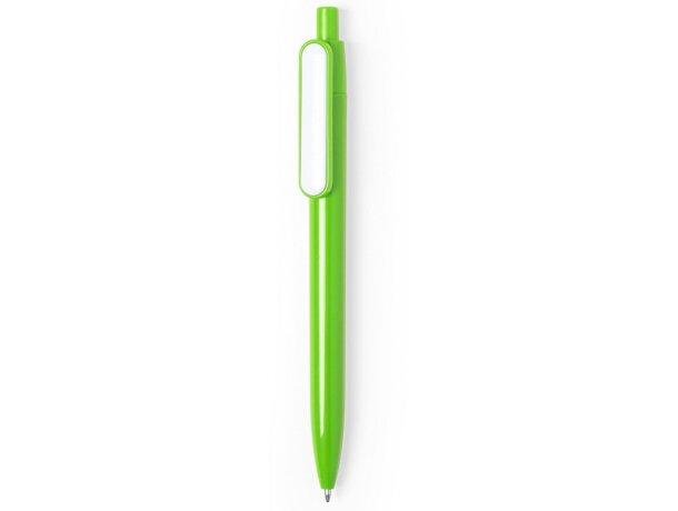 Bolígrafo para empresas personalizado verde para empresas