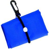 Bolsa plegable de poliéster con mosquetón barata