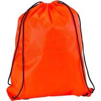 Mochila saco con cuerdas de colores fluorescentes personalizado
