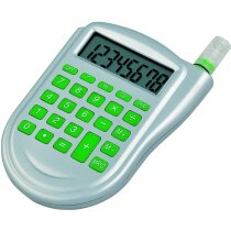 Calculadora ecológica con agua