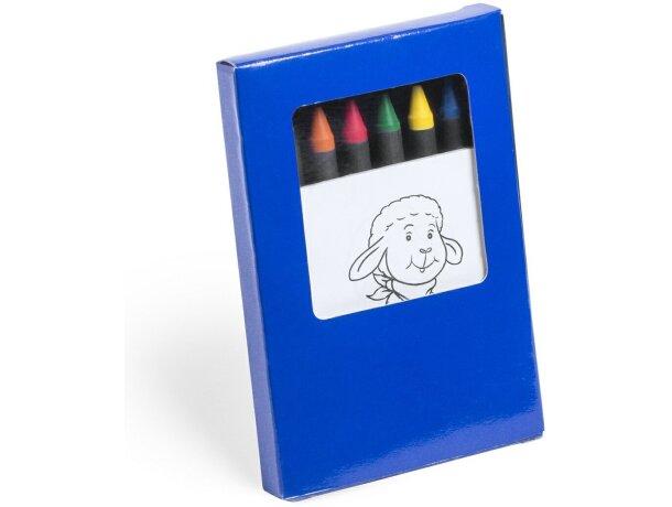 Caja de lápices de colores personalizado
